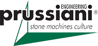 Prussiani Engineering Stone Machine Culture Logo