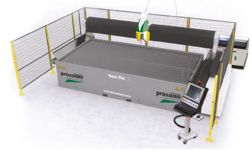 New Rio 5 Waterjet Cutting Machine | 5 Axis Waterjet Cutting