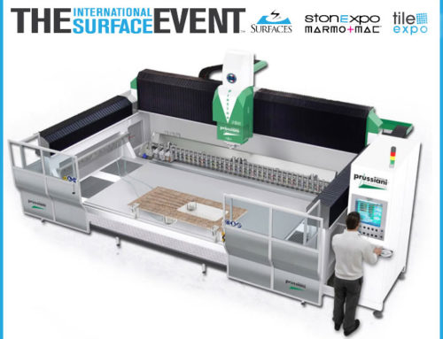 COME CHECK OUT OUR PLATINO CNC ROUTER AT STONE EXPO 2018